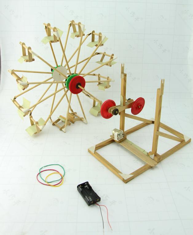 天轮科技小制作小发明 中小学生手工diy模型材料益智玩具图片